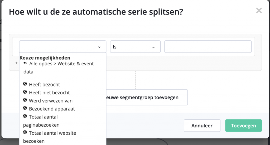 Site Tracking ActiveCampaign in Automation